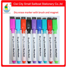 Hot sale with brusn and magnet dry erase marker pen