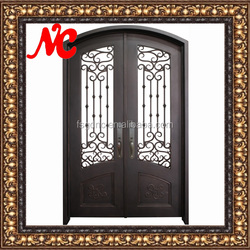 Forged iron doors for house