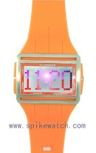 Backlight and alarm function color lcd display sports watch