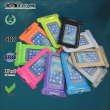 high quality low price Waterproof phone case,pvc waterproof bag for mobile phone
