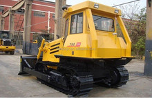 Road Machine Small 80hp Crawler Type T80 Bulldozer With Front 4 Rear 2 Gear