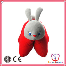 GSV ICTI Factory lovely plush fabric filled japanese neck pillows