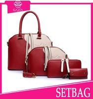2015 latest handbag unique shape handbag 4 Pcs set bag fashion,2015-latest fashion handbags