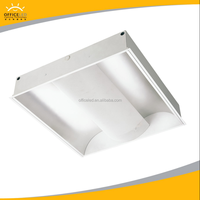 Recessed direct/Indirect Grille Lamp T5 214 PLL236 fluorescent lamp