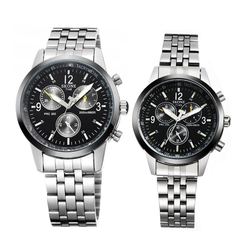 New Watches 2015 Hot Men And Women Watches Sets Skone 7145 ...