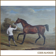 New fashion picture of horse oil painting for wall picture