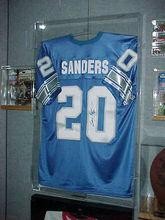 Basketball/Football/Hockey Clear Acrylic jersey Display Case