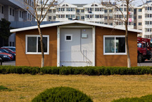 Wanhua Modular Prefabricated Prefinished Integrated Foldable Container house/building