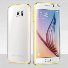 Double Color Metal Bumper For Samsung Galaxy S6