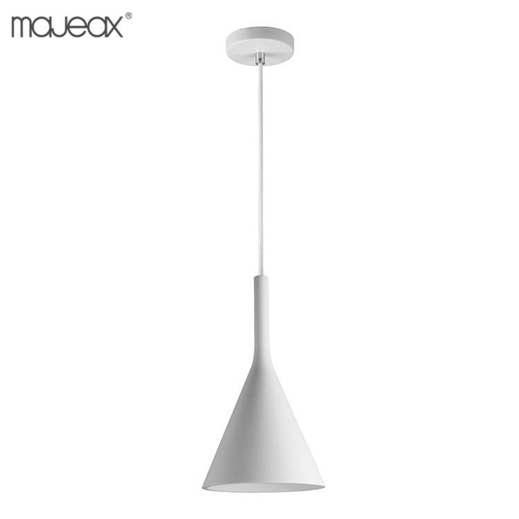 Çin üretici tasarım basit beyaz renk bali asılı lambalar