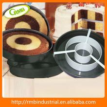 Molde de torta con compartimento 3PCS