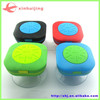 2015 hands free mini wireless Silicon suction cup Bluetooth speaker