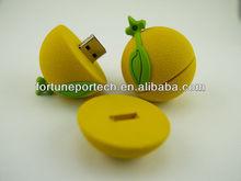 China USB factory, bulk 4gb cheap usb stick fruit