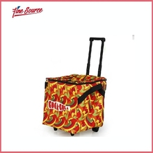 portable picnic trolley cool bag with radio