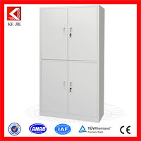 iron and steel cabinet 4 doors children toys storage blue steel filing cabinet