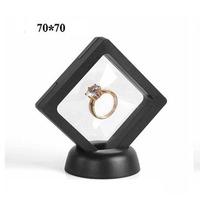 Luxury championship ring diamond display box