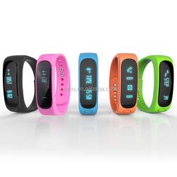 Best selling cicret smart bracelet,bracelet watch,E02 smart bracelet,trade assurance