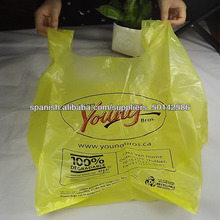 bolsas de la venta caliente de la camiseta para ir de compras