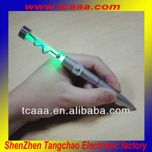 writing in the dark! flashing led ball pen