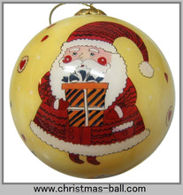 Venta de la navidad de bolas cristal decorativo