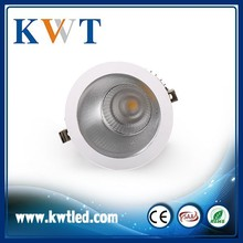 100% Good quality high performance 245mm cutout led ceiling downlight