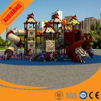 outdoor playground plastic slide park playground equipment outdoor slide playground kids play house (XJ55A)