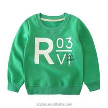 2015 Autumn Fashion Clothing Sale Soft Long Sleeve Pullover Boy Feece Hoodies