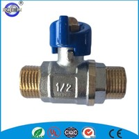 cw617n brass forged male threaded ball vale for water