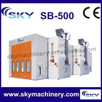 china supplier SB-500 car baking booth/truck spray booth/car paint mixing machine