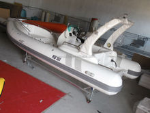 19ft/5.8m rigid inflatable boat RIB580B luxury boat with CE, hypalon or PVC fishing boat