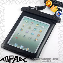 2015 new arrival pvc phone waterproof case for ipad mini