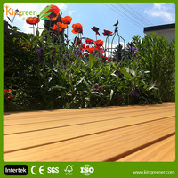 eco-friendly high quality hollow WPC decking flooring tile prices wpc uv resistant decking also wpc crack-resistant decking