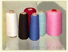 Acrylic Yarns - Raw White and Dyed