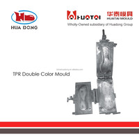 Sole Mould Expert Huatai,Customize sole mould TPR double color mold