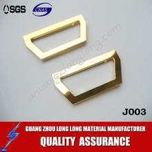 new arrival! Lead-free Light Gold Color Metal Clutch fancy Purse Frame hardware for Bag
