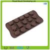 Animal theme novelty design silicone chocolate bar mold,animal shaped cake pan mold