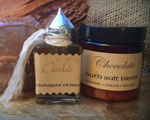 kraft paper sticker for Bath salt blend, perfume oil & soap