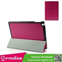 For iPad Air, Tri-fold Crazy Horse Flip Leather Smart Case with Stand for iPad Air