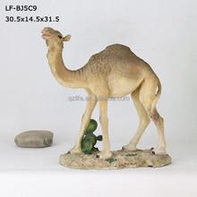 2015 popular home camel deco resin ship of the desert