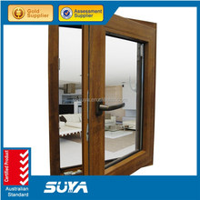 aluminium clad wooden top hung window / side hung window