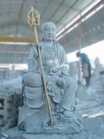 grey granite large Buddha statue for sale