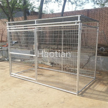 Dog Enclosure Large Rectangular Kennel Run 200x50mm mesh size 4mm wire dia 1.5x2.5x1.85m out door dog run pen fencing enclosure