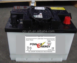 12V LEAD ACID BATTERY DIN STANDARD LEAD ACID DRY CHARGED STORAGE CAR BATTERY DIN62 12V62AH