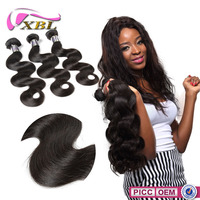 XBL 2015 No.1 Selling Popular Chemical Free Cheap Brazilian Human Hair Extension On Sale