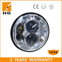 5.75 led headlight e-mark approved 5.75 motorcycle headlight 5.75inch for harley