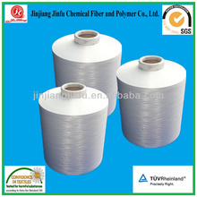 100% virgin polyester spun yarn 30/1 ring spun yarn in China