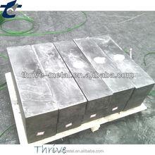 High-purity graphite and fine grain graphite blocks