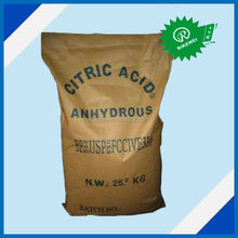 citric acid anhydrous powder food grade E330