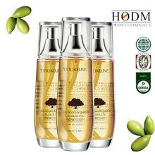 100% Pure natural e nutritivo óleo de argan / private label óleo de cabelo argan