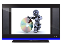 15 inch LCD TV LCD monitor with USB play VIDEO
